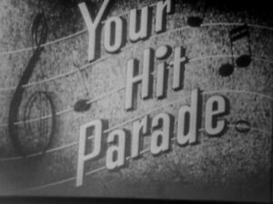"""16mm FILM 1954 TV SHOW Music w/ Lucky Strike Commercials """" YOUR HIT PARADE  """"   eBay"""