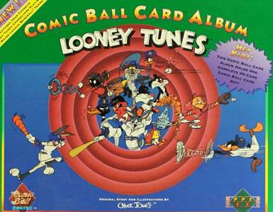 1990 Upper Deck Looney Tunes Series #1 Comic Ball Card Set with Albums